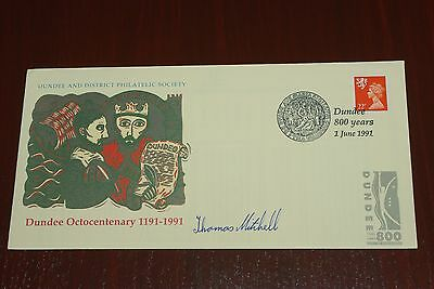 1991 Dundee 800 years Octocentenary 1191 - 1991 Cover Signed