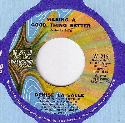Denise La Salle: Making A Good Thing Better (Westbound) Near Mint