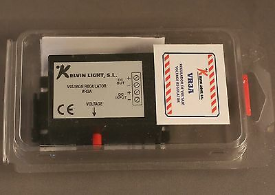 Kelvin voltage regulator vr3a  6-15 volts  in 1-15 out variable up to 3 amps