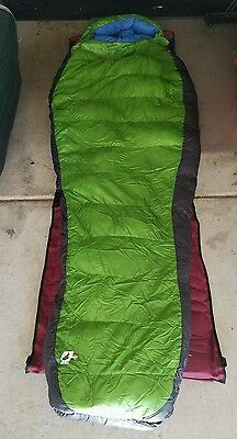 Northface superlight 0 sleeping bag *Down soap laundried Mountaineering bag. 0F