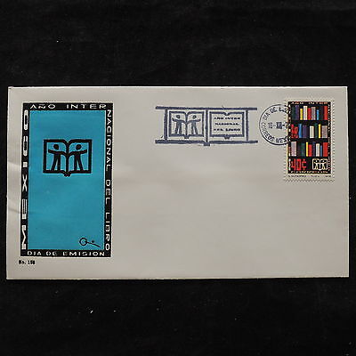 ZS-U472 MEXICO - Fdc, 1972, International Year Of The Book Cover