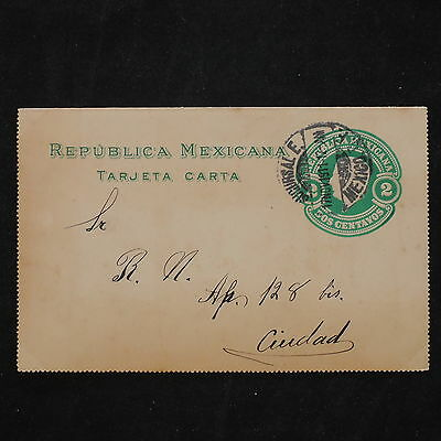 ZS-W198 MEXICO - Entire, 1911, Great Franking Airmail Postcard