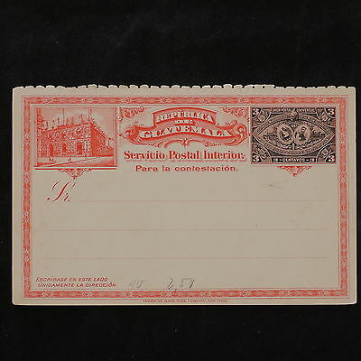 ZS-W227 GUATEMALA - Entire, Great Franking Airmail Postcard