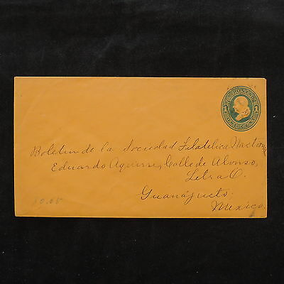 ZS-W229 US COVERS - Entire, Great Franking Airmail To Mexico Cover