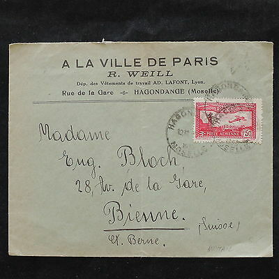 ZS-W381 FRANCE - Aviation, Great Franking Airmail To Switzerland