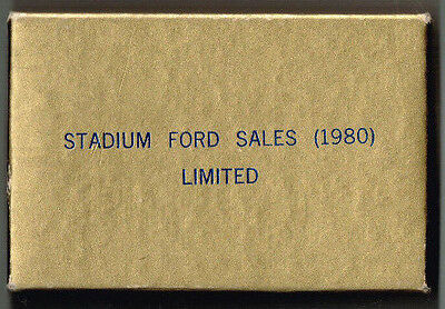 Stadium Ford Sales Limited Playing Cards
