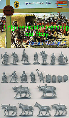 1:72 FIGUREN 116 ROMAN TRANSPORT SET 1 LIMITIERT - LINEAR-B NUR 5x