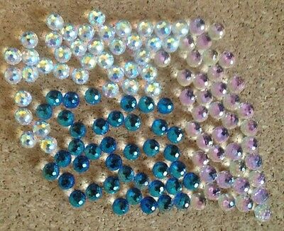 120 pieces Austrian crystal 6mm balls for crafters/jewellers