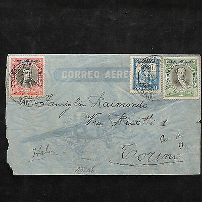 ZS-W954 CHILE - Cover, Gtreat Airmail To Italy