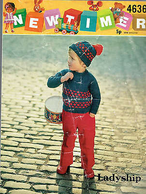 new times LADYSHIP 466 boy#s jumper and hat