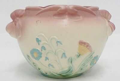 Beautiful Hull Pottery Pink Jardinier Bow Knot Number B-18