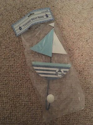 Sass And Belle Sailing Boat Hook Nautical Beach Home Decor Shabby Chic