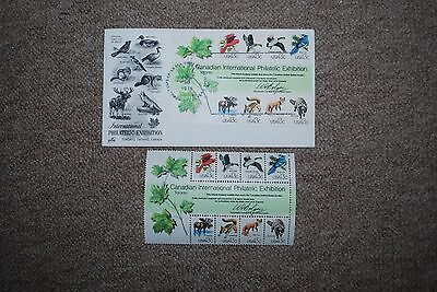 Canadian First Day Cover International Philatelic Exhibition 1978 + Unused Set