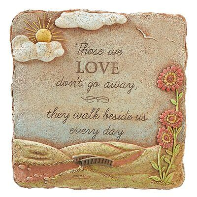 """Those We Love"" Garden Stone and Wall Plaque Sculpture"