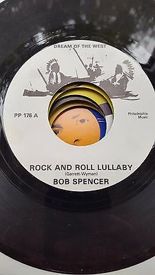 Bob Spencer  Dream Of The West Repro  Label   45 Rock N Roll Lullaby   Jiver
