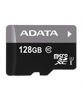 ADATA 128GB MICRO SD SDHC CLASS10 Memory Card + adapter NEW