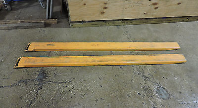 """Used 7' X 5"""" Forklift Extensions"""