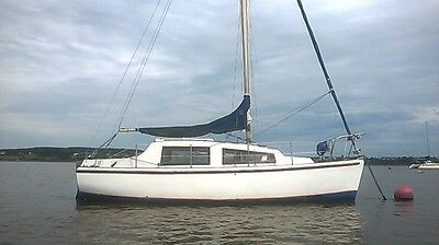 Sailing yacht ,22ft Itchen ferry