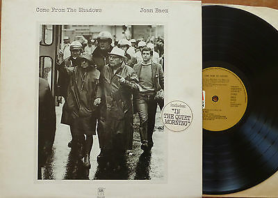 Joan Baez - Come From The Shadows LP Orig Press 1972 A&M AMLH 64339 G/Fold