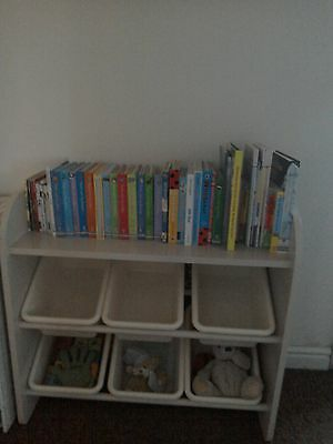 Bookcase/toy Storage For Nursery Or Childs Room