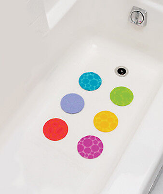 Munchkin 6 Non Slip Grippy Dots for Bath (Non-Slip Instead Of Using Bathmat)