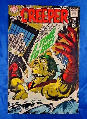 Beware The Creeper #6 Apr 1969 12c A Time To Die