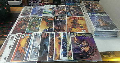 WITCHBLADE 1-62 & 10 others / 72 Comic Books - MICHAEL TURNER Classic