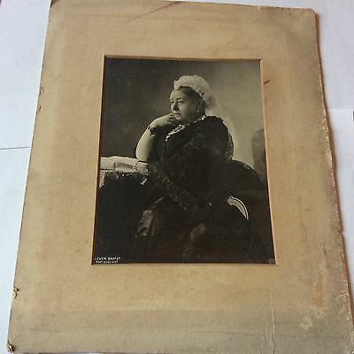 Vintage Real Photo Queen Victoria By Lever Bros Port Sunlight