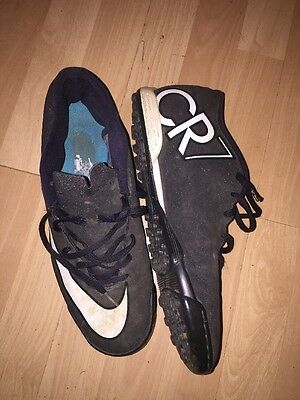 Nike CR7 Astro Turf Football Boots Size 11 Black Good Condition