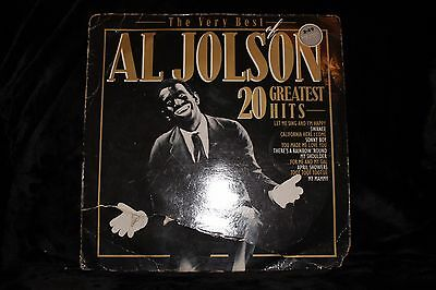 Al Jolson ‎– The Very Best Of Al Jolson - 20 Greatest Hits - Vintage Vinyl
