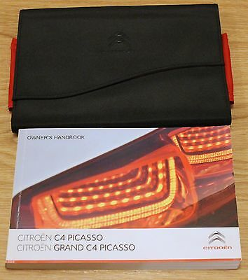 Citroen C4 Picasso Grand Picasso Owners Manual Handbook Wallet 2013–2017 T1790