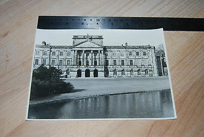 Vintage / Old Black and White Photograph Stately Home