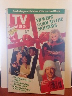 TV Guide Chevy Chase 1990