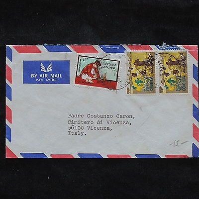 ZS-X196 VIETNAM - Airmail, 1973, Great Franking To Italy Cover