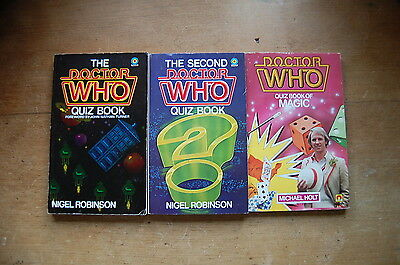 Doctor Who Quiz Books (1980s)