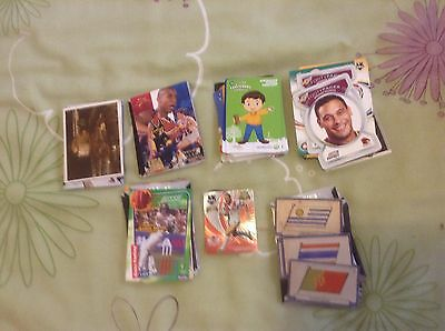 Trading Cards Mix X 100, Nrl, Bball, Woolies, Cricket Etc