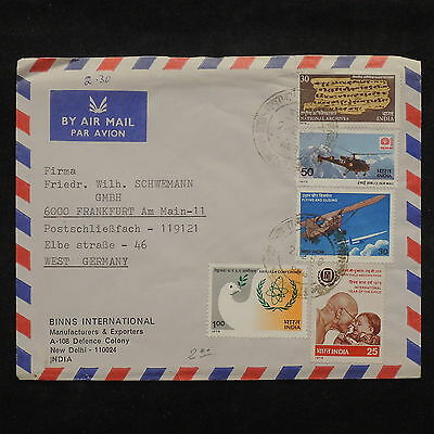 ZS-X530 INDIA IND - Airmail, 1980, Iyc, Airplanes, Great Franking Cover