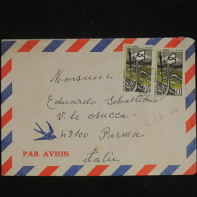 ZS-X784 TUNISIA IND - Airmail, Great Franking To Italy Cover