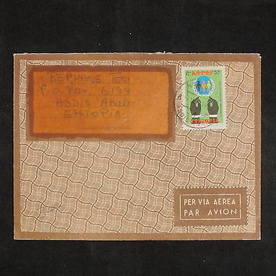ZS-X789 ETHIOPIA - Airmail, 1979, Great Franking Cover