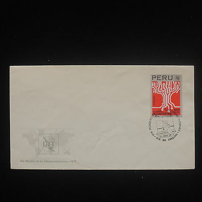 ZS-Y120 PERU - Fdc, 1977, Uit, World Day Of Comunication Cover