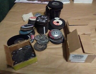 lot of grinding cutting wheels disc over 250 wheel metebo ++