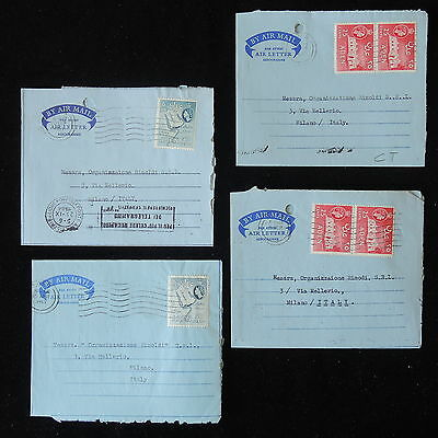 ZS-Y793 ADEN - Covers, Airmail To Italy, Lot Of 4