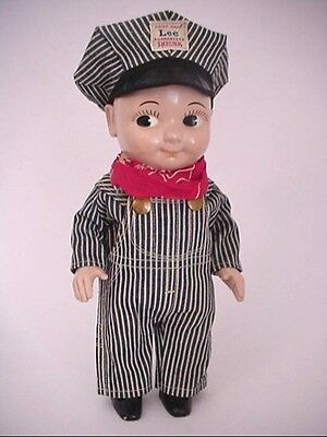 Old *Buddy Lee Doll * 1950's * Exc Cond !  Vintage Railroad
