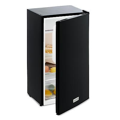 Klarstein Fridge Freezer Small 56 L Home Cooling Stainless Steel Energy A+ Black