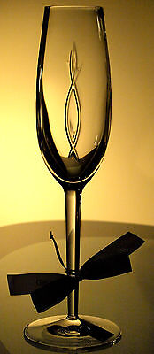 Waterford Crystal John Rocha Weft Champagne Flute/Flutes Brand New