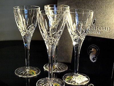 Waterford Crystal Lismore Cordial Glasses/ Set of 4 Brand New in box