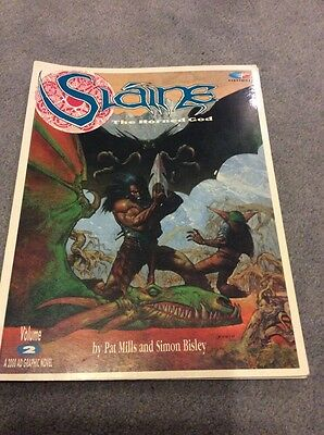 Slaine The Horned God Volume 2 2000AD large Format Edition First Printing