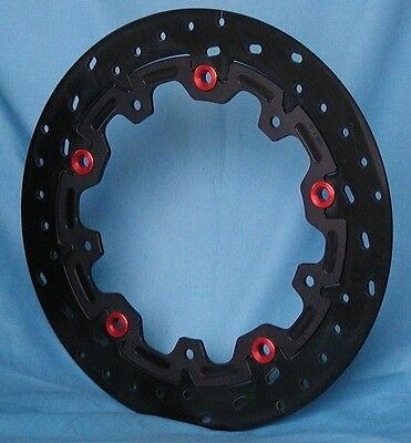 Axis Iron Front Brake Floating Rotors BMW S1000RR S1000R S1000XR R Nine T R9T