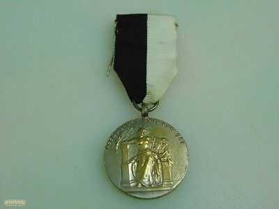Portugal Portuguese Militaria Lisbon Medal Assuidity And Good Services