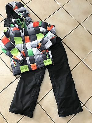 Boys Quicksilver Snow Pants And Jacket